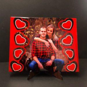 Saját képpel nyomtatható csempe, különböző méretben, különleges ajándéktárgy.