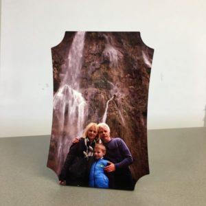 MDF lap íves szélekkel, fényes felülettel, saját képpel nyomtatható